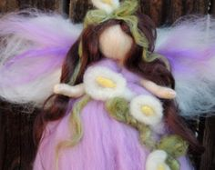 These are adorable! Waldorf inspired needle felted wool angels, fairies, gnomes, elf figures, wall hangings, decor and wearable art for the child at heart! Perfect for Steiner nature tables, holidays, birthdays Nushkie on Etsy