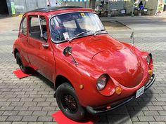 【F】漆の造形。漆塗りの車。なんとも言えないレトロ感とフォルムが絶妙にマッチしてると思う。
