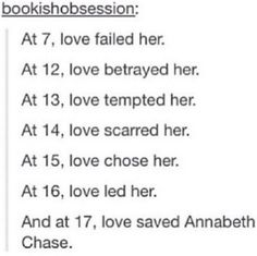 Annabeth is my fav