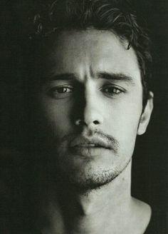 James Franco - Amo fotos em preto e branco - sombra e luz.