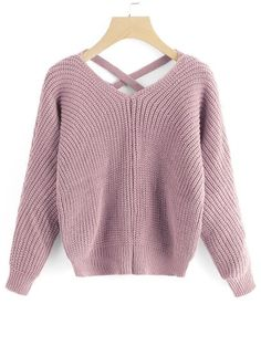 GET $50 NOW | Join Zaful: Get YOUR $50 NOW!https://m.zaful.com/v-neck-criss-cross-pullover-sweater-p_416078.html?seid=6148270zf416078