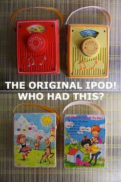 Yes, I remember these