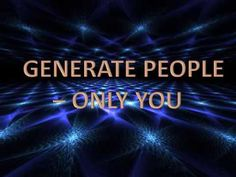 Generate People - Only You