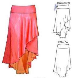 Gallery.ru / Photo # 12 - Skirts (models, sketches) - Lenchik-O