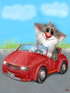 GOOD MORNING GIRLS...... WERE GOING ON A ROAD TRIP TO SEE ALL OF OUR FRIENDS, WANNTA COME ALONG WITH ME?? ..WEEEEEE!!!! .... READY.. HERE WE GO. ...... VROOMMMMM......LOOK OUT WORLD, READY OR NOT HERE WE COME  ... ... VROOOMMMM ..... ..LOVE YA! ...... LOL. ..