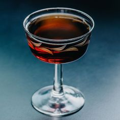 Meet the Manhattan's Distant Relative: The Waldorf Rye Cocktails, Famous Cocktails, Types Of Cocktails, Bourbon Drinks, Craft Cocktails, Cocktail Drinks, Cocktail Recipes, Alcoholic Drinks, Drink Recipes