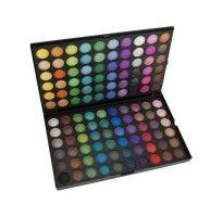 Professioneel 120 kleuren shimmer en matte oogschaduw palette / Professional eyeshadow palette in 120 matte and shimmer colours