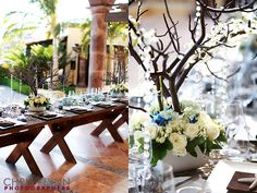Love the imperial table style, the picture by Chris and Lynn and the floral design by Cabo Floral Studio!