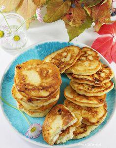 Placki z serem twarogowym. Pancakes with cottage cheese. Cottage Cheese Pancakes, Breakfast, Food, Morning Coffee, Essen, Meals, Yemek, Eten