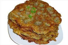 Crêpes de pommes de terre à la Traditionnelles tcheques Saucisse