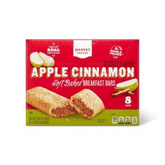 Market Pantry? Apple and Cinnamon Cereal Bars are a great way to start your day. Have one for breakfast or as an on-the-go snack Age Group: adult. Cinnamon Cereal, Cinnamon Apples, Baseball Manager, Cereal Bars, On The Go Snacks, Buy Apple, Breakfast Bars, Pantry, Sugar