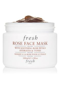 """I've been using this face mask every day this week, since the cold, windy weather seems to be determined to ruin my face! It's hydrating and soothing, so it not only helps with those dry patches but takes care of the redness underneath them. Also, it smells like springtime."" — Gabrielle Korn, assistant beauty editor  Fresh Rose Face Mask, $58, available at Fresh."