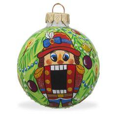 3-25-034-Nutcracker-on-Christmas-Tree-Glass-Ball-Christmas-Ornament