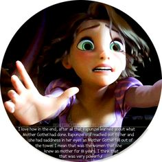 Tangled - rapunzel lost everything in that moment her mother and Eugene. The two people she loves