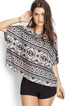Southwestern-Inspired Sweater | FOREVER21 #SummerForever