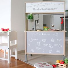Ikea Duktig Play Kitchen Hacks – Kids Interiors Ikea Duktig Play Kitchen Hacks – Kids Interiors,Kinder Ikea Duktig Play Kitchen Hacks – Kids Interiors Related posts:DIY Barn Wedding with Sunflowers Ikea Toy Kitchen Hack, Ikea Hack Kids, Ikea Hacks, Rustic Kitchen Cabinets, Kitchen Furniture, Kitchen Decor, Cheap Furniture, Ikea Kids Furniture, Furniture Dolly