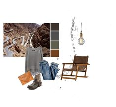 """'Take you home with me'. - John Lee Hooker"" by ashbar on Polyvore featuring National Geographic Home, Diesel, Steve Madden, rag & bone/JEAN, Clare V. and J.Jill"