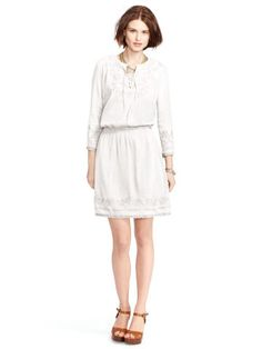 Embroidered Cotton Dress - Lauren Jeans Co. Shop All Dresses - RalphLauren.com  · Long Sleeve Casual DressesSleeve DressesShort ...