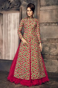 Pink Net Designer Readymade Indowestern Lehenga Choli For more information :- Call us (Whatsapp Available) Party Wear Indian Dresses, Designer Party Wear Dresses, Indian Fashion Dresses, Indian Gowns Dresses, Kurti Designs Party Wear, Dress Indian Style, Lehenga Designs, Indian Designer Outfits, Indian Outfits