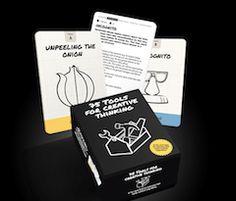 75 Technieken voor Creatief Denken is een nieuw spel met 75 kaarten voor verschillende stadia in het bedenken van nieuwe ideeën. Bis Publishers  Nu bij LhGWR € 24,-