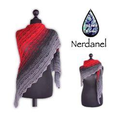 Häkle Dir jetzt ein schönes + neues Tuch mit einem attraktiven Muster und Farbverlauf / Verlaufsgarn. Das wird toll. Probiers gleich mal aus damit.