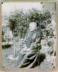 Amelia Calkins Takin In The 1890s Stockton California Carte CaliforniaAmeliaCarte De Visite