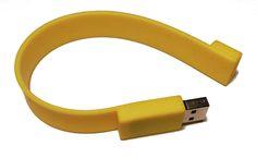 http://www.amazon.de/Armband-16GB-GELB-VERSANDKOSTENFREI-Silikonarmband/dp/B01BRVHOD6/ USB Armband 16GB GELB - VERSANDKOSTENFREI - Armband USB Stick - USB Stick als Armband - Silikonarmband - Gummiarmbänder - HOCHWERTIG