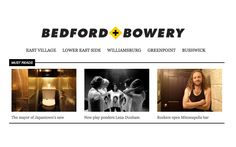 Some recent love from Bedford + Bowery.