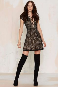 WYLDR Hayley Tea Dress | Shop Clothes at Nasty Gal!
