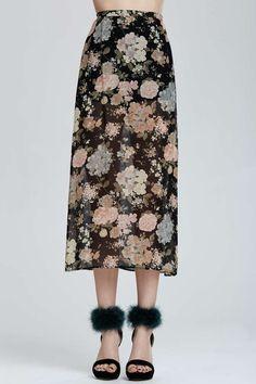 Vintage Dolce & Gabbana Rovigo Sheer Skirt