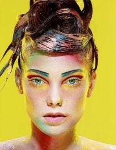 Face  & hair paint
