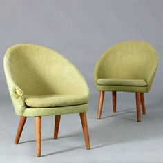 E. Johannesen; #301 Easy Chair by Godtfred H. Petersen for Heddinge, 1959.