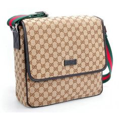 Gucci Messenger Bag 233052 Brown