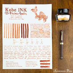 Another shader for your autumnal palette, this beauty will dazzle with colors from carrot to gingerbread to cinnamon. It's this year's Pumpkin Spice Ink! Via Anderson Pens
