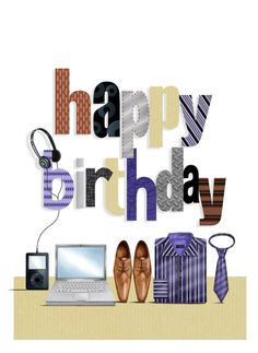 Happy Birthday for Him, Male, Man Birthday Greetings For Men, Happy Birthday Man, Happy Birthday Pictures, Birthday For Him, Birthday Blessings, Birthday Wishes Quotes, Happy Birthday Messages, Happy Birthday Wallpaper, Birthday Clips