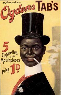 Cigarettes Smoking Ogden's, UK - Vintage Retro Advertisement Ad Art Poster Print Postcard ☮~ღ~*~*✿⊱ レ o √ 乇 ! Advertising Archives, Vintage Advertising Posters, Old Advertisements, Vintage Posters, Food Advertising, Pub Vintage, Vintage Ephemera, Funny Vintage, Vintage Fonts