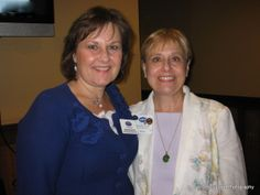 #AndreaBrundage, #NAPO AZ Vice President and Brenda Scagnetti Clement, President #ProfessionalOrganizer