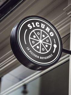 Orion Creative Studio - Sicuro Restaurant - Branding and Adversiting Pizzeria, Restaurant Branding, Looking For Someone, Good Pizza, Creative Studio, Advertising, Graphic Design, Design Agency, Corporate Identity