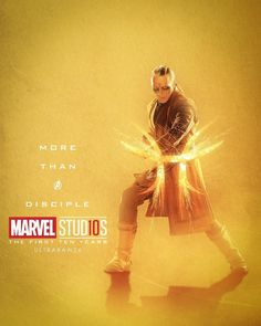 Kaecilius More Than A Disciple Character posters for Marvel Studios' 10th anniversary