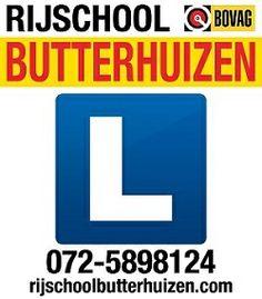 Lichtmast-reclame / Logo! http://www.rijschoolbutterhuizen.nl/gratis-proefles-aanvragen