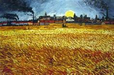 vincent van gogh sunset - yahoo Image Search Results