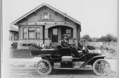 Wine deliveryman - San Jose, California Why don't we have these Places In California, California Usa, Northern California, California History, Vintage California, Wine Delivery, Delivery Man, Santa Cruz Mountains, Santa Clara County
