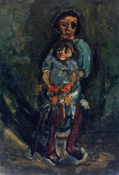 Chaim Soutine – Mother and Child, c. 1942