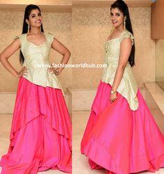 Anchor Syamala in Divya & Varun | Fashionworldhub