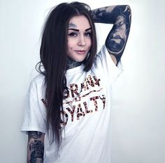 I just find her so perfect TATTOO GIRLS - MONAMI FROST | ☾UNICORN☾