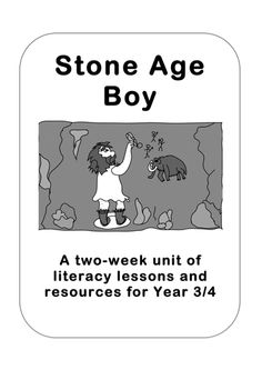 The official Stone Age Boy resource pack from /> <br /> A two-week unit of work for Years based on the book 'Stone Age Boy', with full l. Activities For Boys, History Activities, Teaching Tools, Teaching Resources, Teaching Ideas, Stone Age Boy, Stone Age Animals, Year 4 Classroom, Classroom Ideas