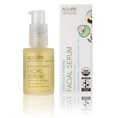 Azure Organics  seriously firming facial serum- Experience concentrated and targeted results as rich antioxidants and nutrients revitalize our skin. Certified Organic Argan Oil restores moisture to the skin's lipid layer. Borage Oil soothes infl…