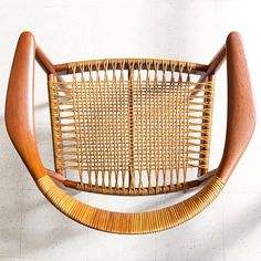 """Just one good chair!  The """"Round"""" Chair by Hans J. Wegner  c.1949 (at Danish Modern L.A.)"""