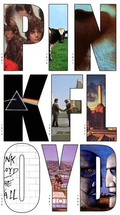 """Pink Floyd - Though typically labelled """"Progressive Rock"""", this important band has contributed a lot to Ambient Rock, specially on records like """"Meddle"""", """"Wish You Were Here"""" and """"The Dark Side of the Moon. Music Love, Music Is Life, Good Music, My Music, Pop Rock, Rock N Roll, Imagenes Pink Floyd, Great Bands, Cool Bands"""