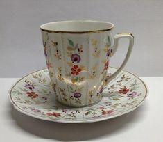 W Fine Porcelain China Diane Japan Porcelain Jewelry, Fine Porcelain, Tea Cup Saucer, Tea Cups, Royal Tea, Vintage Tableware, Antique Chandelier, Fine China, High Tea